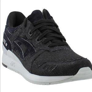 ASICS Gel Lyte III black denim  men's sneakers